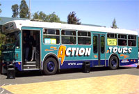 Action Winery Tours Bus